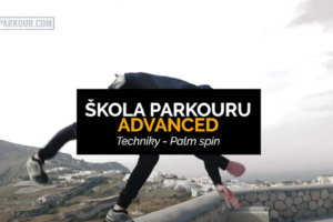 Parkour - Palm spin